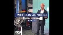 Michelin annonce un pneu increvable pour 2024