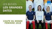 Coupe du monde féminine de football | Les grandes dates de l'équipe de France féminine de football