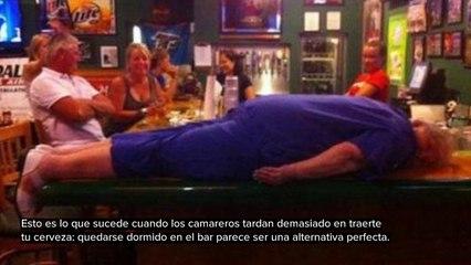 EL ALCOHOL NO ES EL MEJOR AMIGO DEL HOMBRE