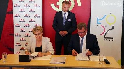 Podpisanie umowy ŁKS