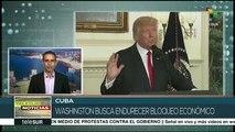 Gobierno de Cuba rechaza nuevas sanciones impuestas por EE.UU.