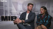 Chris Hemsworth and Tessa Thompson talk about Men in Black: International
