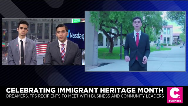 'There Is a Voice, There Is a Pathway,' DACA Dreamer Says During Immigrant Heritage Month