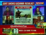 Home Minister Amit Shah Assures Support To Forces, Govt Shows Kashmir Resolve?   Nation At 9