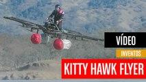 [CH] Kitty Hawk Flyer, el dron  eléctrico que transporta personas