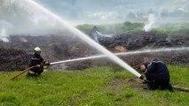 Savoie : les pompiers à la manoeuvre pour éteindre un énorme écobuage illégal à Fréterive