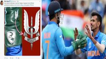 World Cup 2019 IND vs SA: MS Dhoni sports Army insignia on Wicket Keeping gloves   वनइंडिया हिंदी
