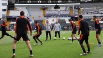 Netherlands train ahead of Nations League semi against England