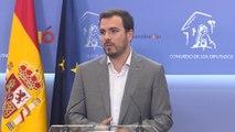 Garzón apuesta por un acuerdo entre PSOE y Unidas Podemos