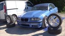 BMW E 36  V 8  - circuit jura sud-Moirans - en - Montagne  - lulu du jura