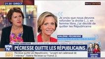 """Démission de Valérie Pécresse: pour la secrétaire générale des Républicains, """"il y a un sentiment d'incompréhension qui domine"""""""