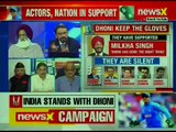 MS Dhoni Gloves Insignia Row: Tribute To  Martyrs, A Crime? Nation At 9