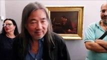 A Ornans, le peintre chinois Yan Pei-Ming dans un face à face original avec Courbet