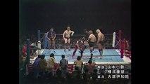 Inoki & Backlund VS Hansen & Hogan '80.12.10 [The 1st Madison Square Garden Tag League Battle ~ Championship Final]