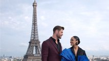 Chris Hemsworth And Tessa Thompson Enjoy Paris On 'Men In Black: International' Press Tour