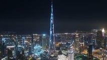 اعلى برج في العالم يحتفل بفنانيس MBC