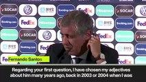 """(Subtitled) """"He's a football genius"""" - Fernando Santos on Ronaldo"""