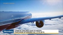 Boeing in Talks for 100-Jet China Deal