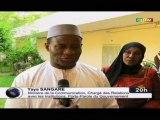ORTM - Visite du Ministre de la Communication chargé des Relations avec les Institutions, Yaya Sangaré, à l'Agence Nationale de Communication pour le Développement