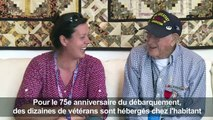 """La Normandie, """"deuxième famille"""" des vétérans du D-Day"""