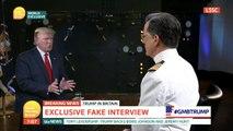 Stephen Colbert Interviews Piers Morgan's Interview Of President Trump
