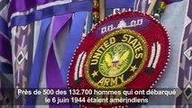 Débarquement: cérémonie aux couleurs amérindiennes à Omaha Beach