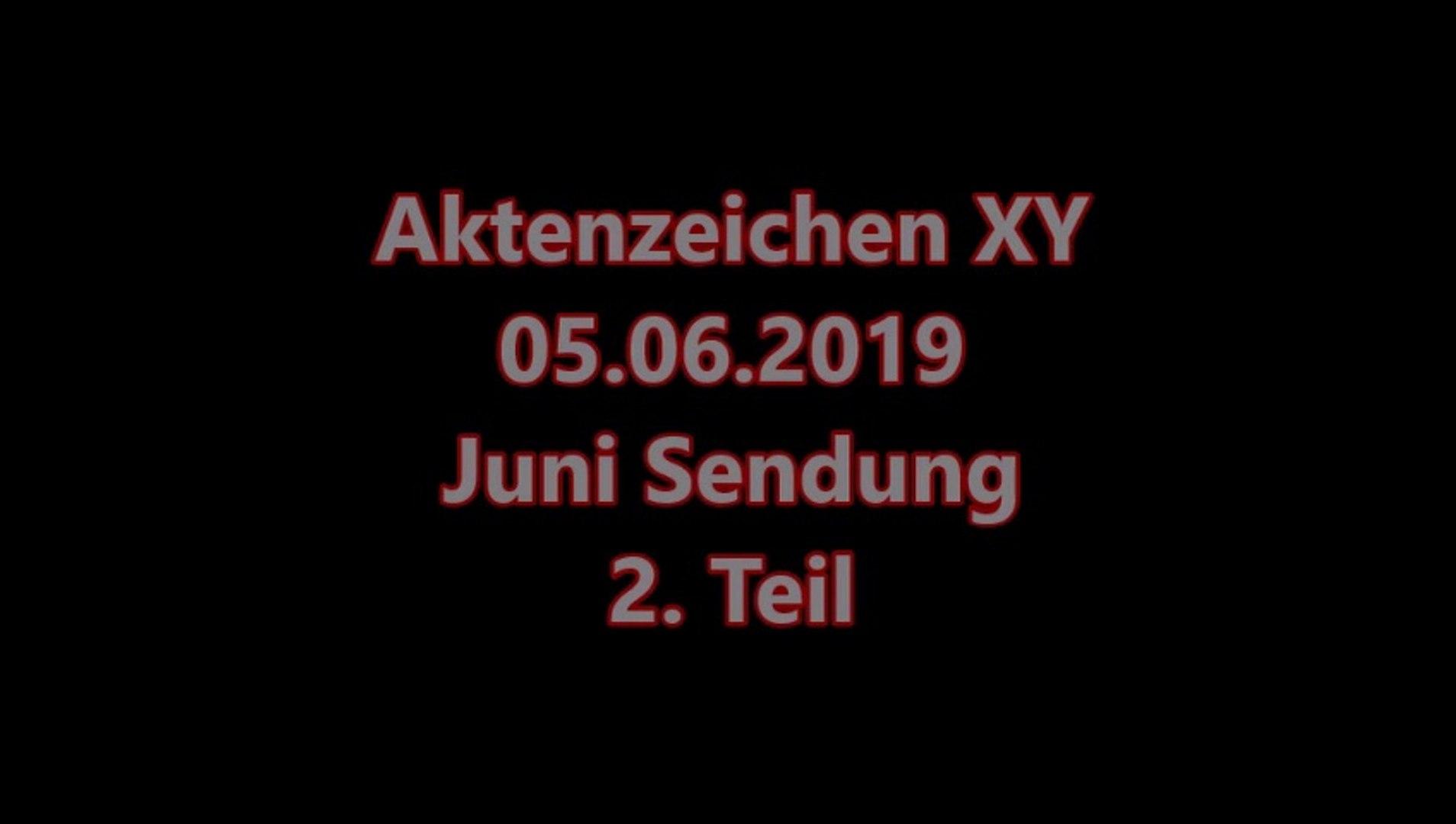 aktenzeichen xy juni 2019