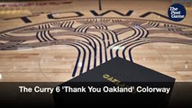 Stephen Curry's 'Thank You Oakland' Colorway