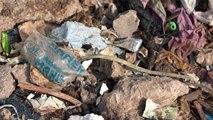 Una montaña de basura en Nueva Delhi casi tan alta como el Taj Mahal