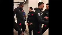 Psychopathic Focused Kawhi Leonard leaves teammate Norman Powell hanging before Game 3 NBA Finals Raptors vs Warriors 6-5-19