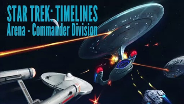 Playing Star Trek: Timelines - Arena: Commander Division (iOS)