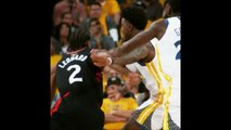 Robot Kawhi Leonard gets hit slapped in face and barely flinches during Game 3 NBA finals Warriors vs Raptors 6-5-19