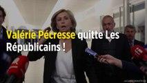 Valérie Pécresse quitte Les Républicains !