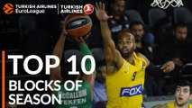 2018-19 Turkish Airlines EuroLeague: Top 10 Blocks!