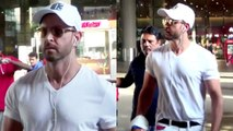 Super 30 Actor Hrithik Roshan Shows ATTITUDE To His Fan And Media At Mumbai Airp