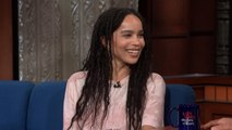 Zoë Kravitz Paid Tribute To Her Mom's 'Rolling Stone' Cover