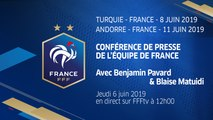Équipe de France, la conférence de presse de Pavard et Matuidi en direct (12h)