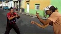 Videos chistosos - pelea de borrachos