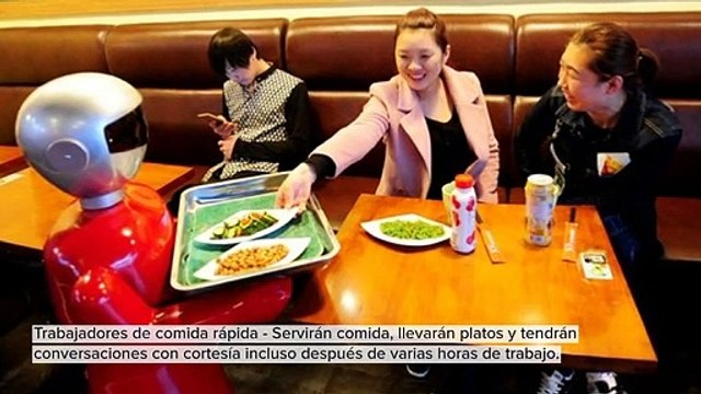 TRABAJOS TOMADOS POR ROBOTS