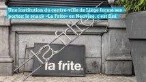 Le snack «La Frite» en Neuvice, c'est fini