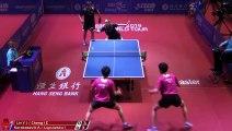 Lin Yun-Ju/Cheng I-C. vs Aleksandar K./Izabela L. | 2019 ITTF Hong Kong Open Highlights (R16)