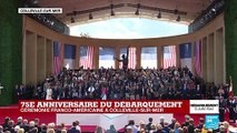 75e anniversaire du débarquement : l'invocation religieuse américaine débute