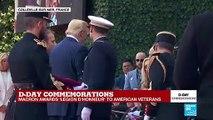 "D-Day landings: Emmanuel Macron awards ""Légion d'honneur"" to American veterans."