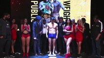 EDDIE HEARN PRESENTS! - UNIFICATION CLASH! - DANIEL ROMAN v TJ DOHENY - OFFICIAL WEIGH IN FROM L.A
