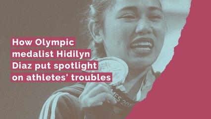 How Olympic medalist Hidilyn Diaz put spotlight on athletes' troubles