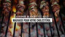 La viande blanche est aussi mauvaise pour votre cholestérol que la viande rouge