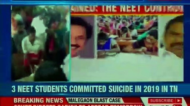 NEET Controversy: 3 students commit suicide; MK Stalin blames centre and AIADMK