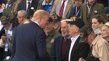World leaders and WWII veterans gather for D-Day anniversary