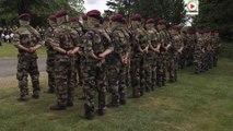 Plumelec: Les Forces Spéciales honorent les SAS - Vannes Télé