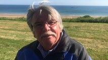 Robert Brown un Américain de Floride à Colleville-sur-Mer